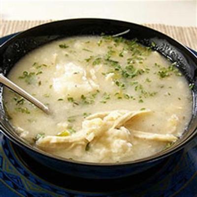 Sopa de frango e nhoque da silk®