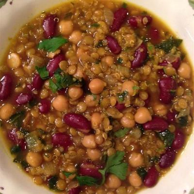 harira marroquino (sopa de feijão)