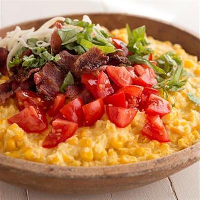 caçarola de milho creme de tomate e bacon