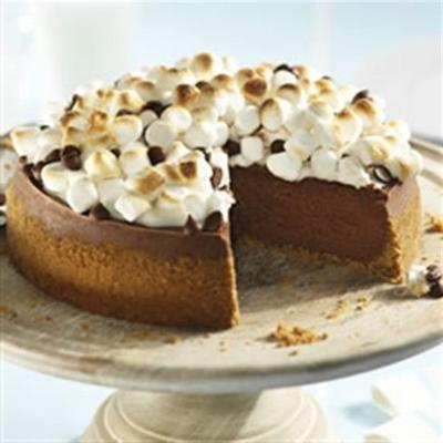 philly s'more cheesecake