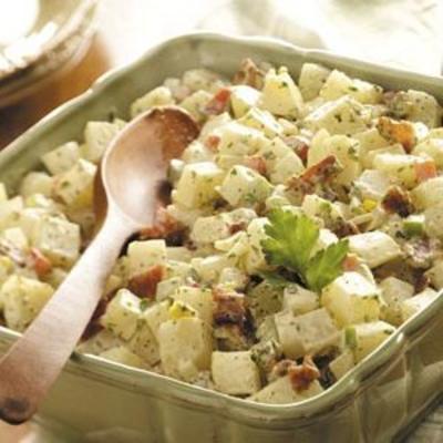 salada de batata do país