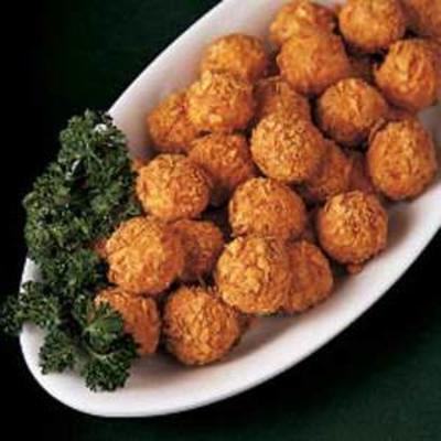 bolas de batata crocante