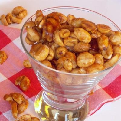 amendoim com açúcar cajun