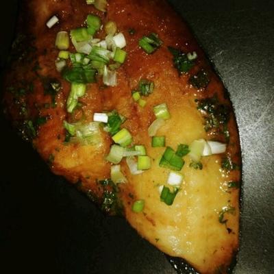 paleo soja e gengibre Poached Solha