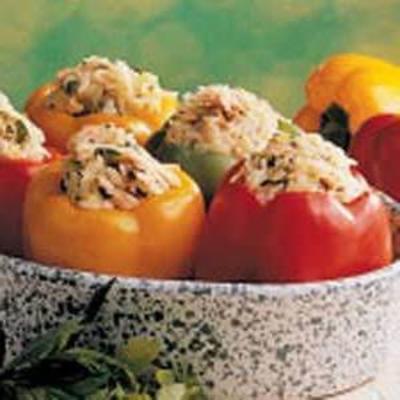 pimentos recheados de salmão