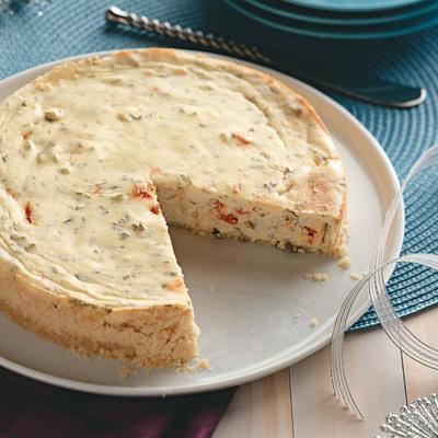 cheesecake com ervas
