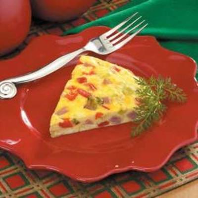 omelete ocidental assada no forno
