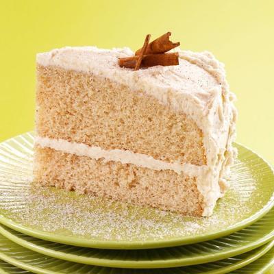 bolo de canela de açúcar