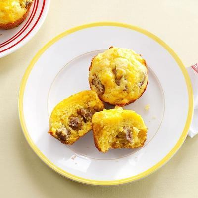 muffins do café da manhã