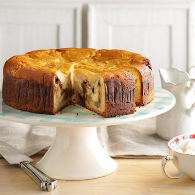 cheesecake de rolo de canela