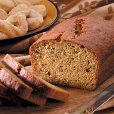 pão de abóbora de violeta