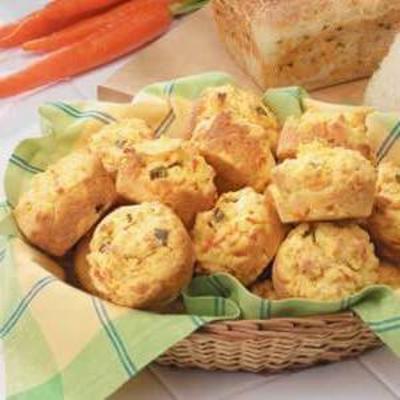 muffins de milho confete