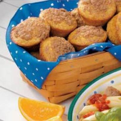 muffins de flor de laranjeira