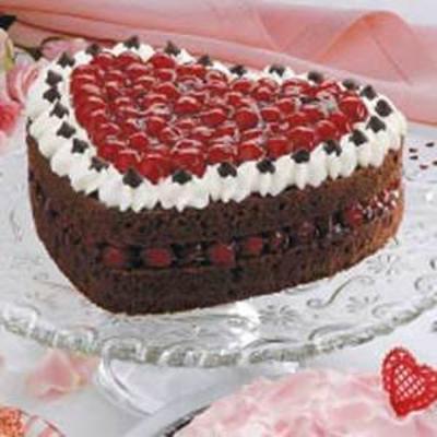 torta de prazer do coração