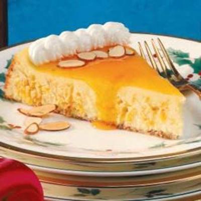 cheesecake de redemoinho de damasco