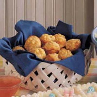 muffins de manjericão-abobrinha