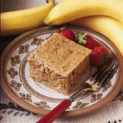bolo de noz de banana sem açúcar