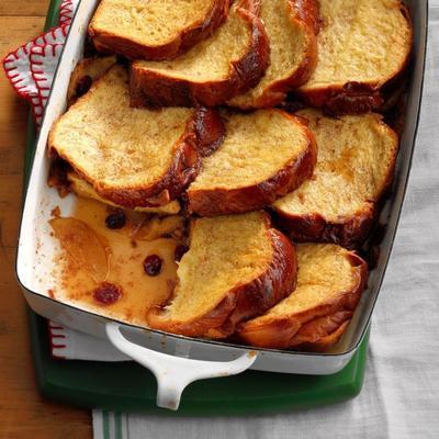 torrada de maçã e cranberry