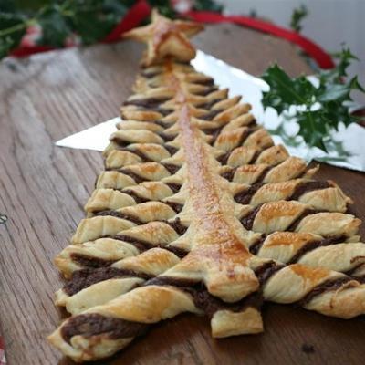 nutella® pastelaria árvore de natal