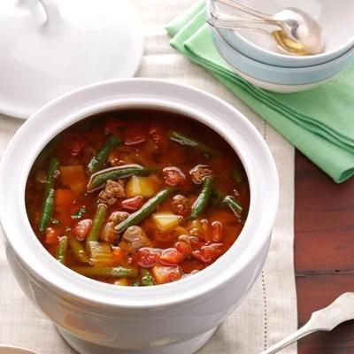 sopa saborosa de inverno