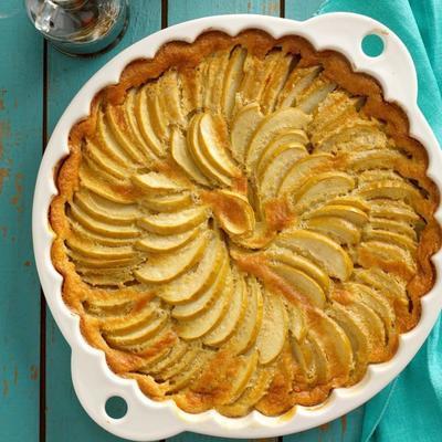clafouti de maple-apple