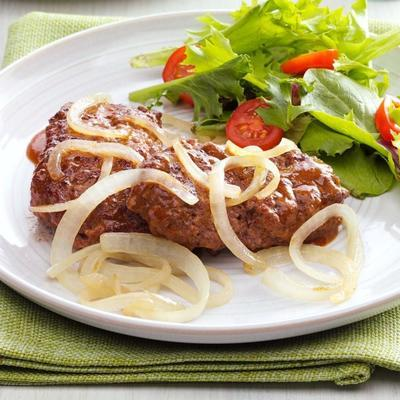 mini-pães de carne