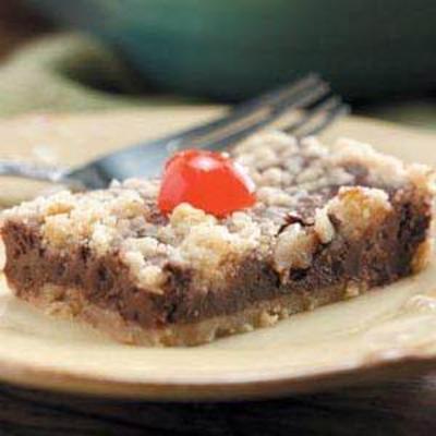 cheesecake de chocolate cereja