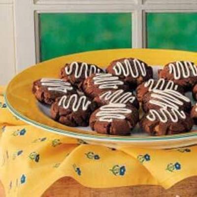 biscoitos de chocolate Surpresa