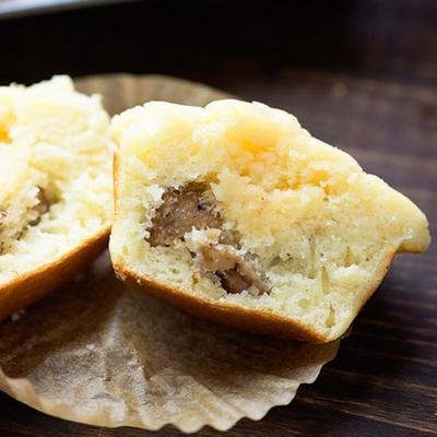 porcos em uma panqueca cobertor muffins