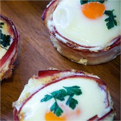 muffins de café da manhã paleo