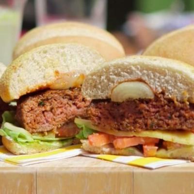 hambúrgueres sous vide