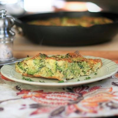 brittata de brócolis fácil