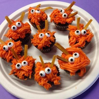 cupcakes mini monstro