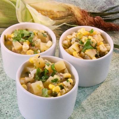 sopa de milho fresco verão