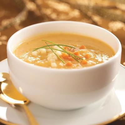 sopa rústica de outono