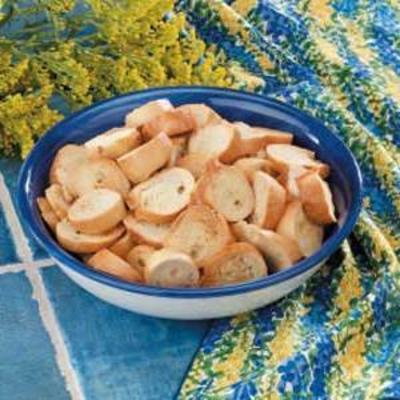 chips de bagel crocante