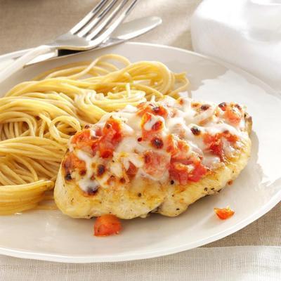 frango saudável fácil parmigiana