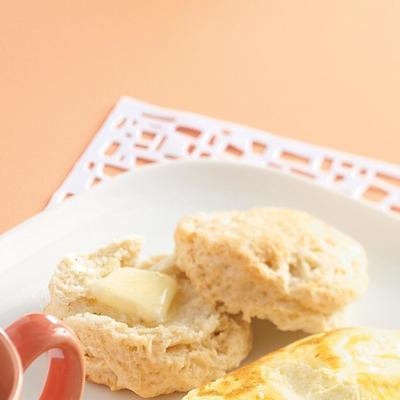 biscoitos de chá leves e fofos