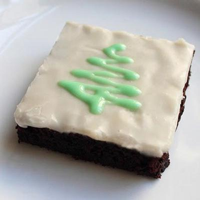 brownies de menta chocolate do chef john