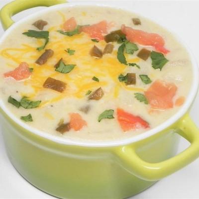 sopa jalapeno-batata
