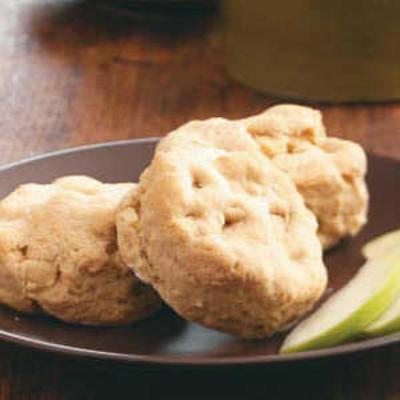 Biscoitos amanteigados de maçã