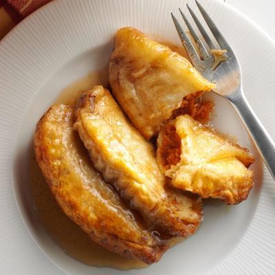 bolinhos de batata doce de caramelo