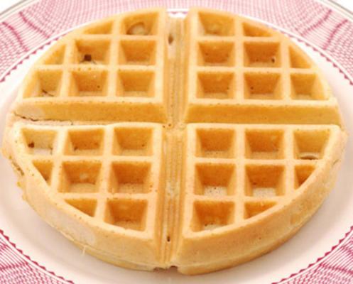 waffles belgas de trigo integral de bella