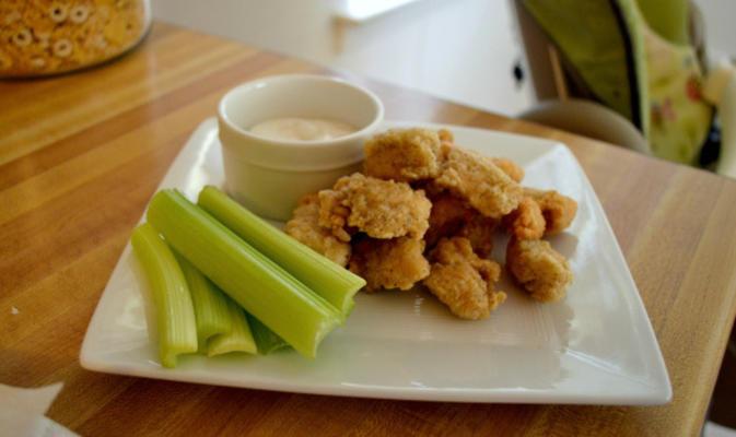 nuggets de frango dourado