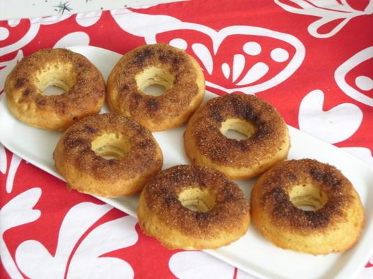 donuts franceses assados