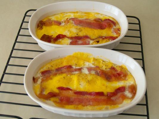 ovos cozidos de baixo estresse