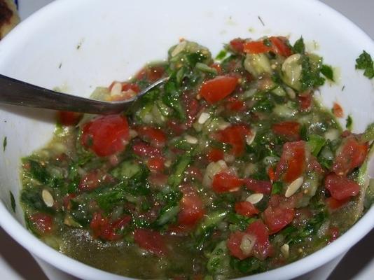 salada israelense de yosi