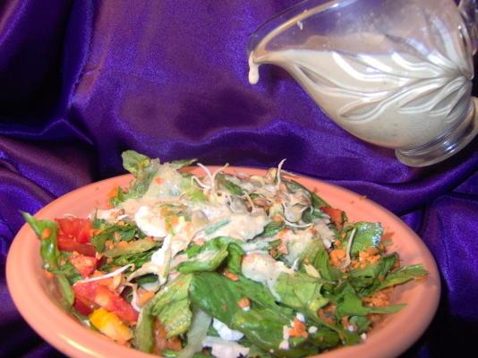 molho de salada deusa tahine