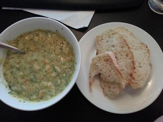 sopa de queijo de batata brócolis - vigilantes do peso