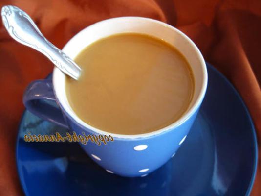 creme de café com sabor líquido